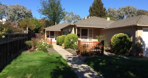 Cute 3BD/1BA Duplex in Palo Alto (675 Colorado Ave.)