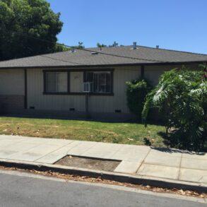 2BD/1BA Duplex in Santa Clara(846 Fremont St.)