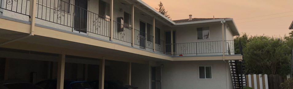 Great 2BD/1BA Upstair Apartment in Sunnyvale (422 S. Bernardo Ave. #2)