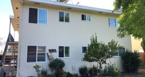 Nice 2BD/1BA Upstairs Apartment near Downtown Sunnyvale (325 W. Maude Ave.)
