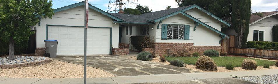 Nice 3BD/2BD in South San Jose. $300.00 move in bonus